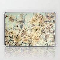 Sakura 2 -- Spring Botanical, Vintage Cherry Blossoms Laptop & iPad Skin