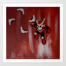 Quick man (megaman 2) Art Print