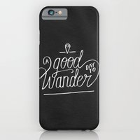 iPhone & iPod Case featuring Good Day to Wander by Koning