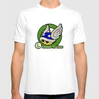 Luigi's Driver Training Mens Fitted Tee White SMALL