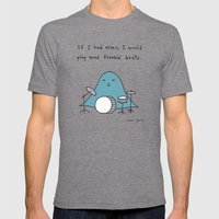 If I Had Arms, I Would P… Mens Fitted Tee Tri-Grey SMALL