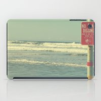No Clam Digging iPad Case
