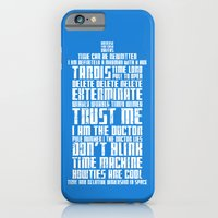 iPhone & iPod Case featuring Tardis by Tombst0ne