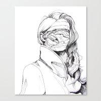 6 pieces_6 Canvas Print