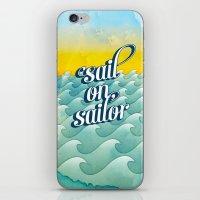 Sail On Sailor, iPhone & iPod Skin