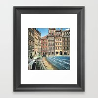 Il Mare In Paese Framed Art Print