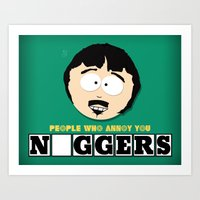 People Who Annoy You Art Print