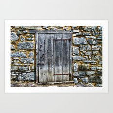 Door at the Mill Art Print