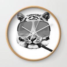Shigar and a Waffle Wall Clock