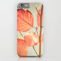 iPhone & iPod Case featuring Simply Leaves by Ben Higgins
