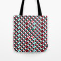 Typoptical Illusion A no.4 Tote Bag