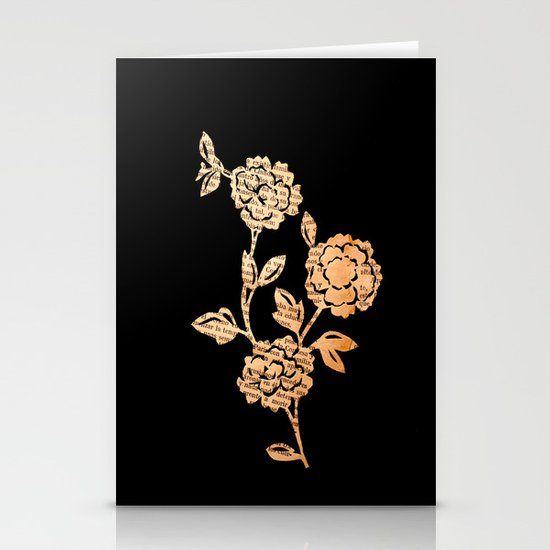 PAPERCUT FLOWER 3 Stationery Card