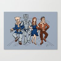 Wizard of Who Canvas Print