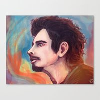 Chris Cornell Canvas Print