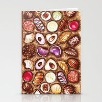 Chocolates for my sweety Stationery Cards