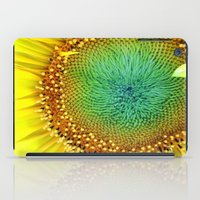 Sunflower from Seed iPad Case