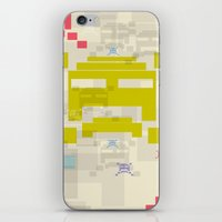 The Invaders! iPhone & iPod Skin