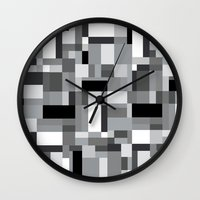 New Map #3 Wall Clock