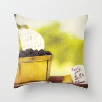 Roadside Throw Pillow