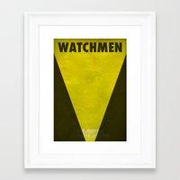 Watchmen - Silk Spectre II Framed Art Print