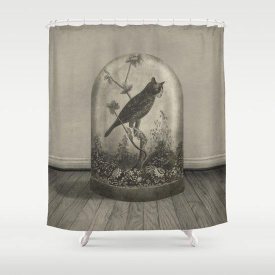 The Curiosity  Shower Curtain