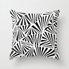 Ab Fan Spray Throw Pillow