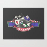 Mrs. Nesbitt's Tea Shop Canvas Print
