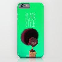 Black Woman iPhone 6 Slim Case