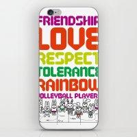 Beach Spike_Friendship iPhone & iPod Skin