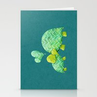 Turtle Hugs Stationery Cards