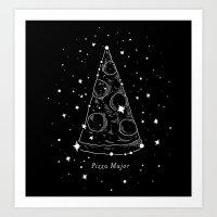 Pizza Major Art Print