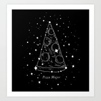 Pizza Major Art Print