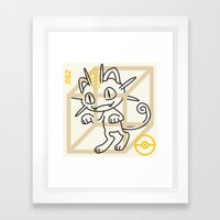 M-052 Framed Art Print