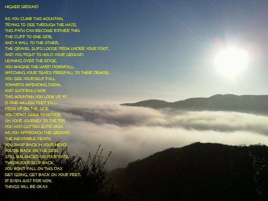 Mountain Poem Art Print