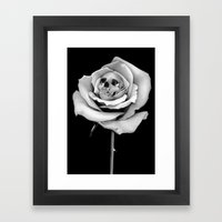 Beauty & Death Framed Art Print