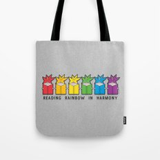 Reading Rainbow In Harmo… Tote Bag
