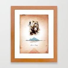 2 of 3 triptych print series Framed Art Print