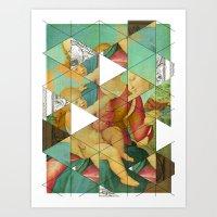 Raphael´s Mother&Child get mixed Art Print