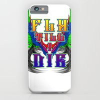 iPhone & iPod Case featuring Fly Till I Die by Patrick Bowden