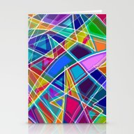 Stationery Cards featuring Stained Glass by Gretzky