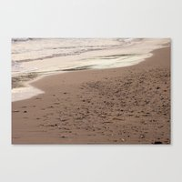 Beach Sand 7136 Canvas Print