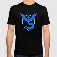 Team Mystic Mens Fitted Tee Black SMALL