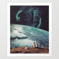 Astronomical Limits II Art Print