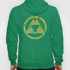 Gold Triforce Circle Hoody