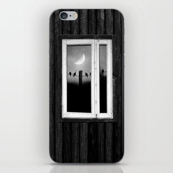 Minimal B&W I iPhone & iPod Skin