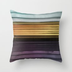 Amanda Wants Stripes Throw Pillow