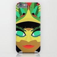 iPhone & iPod Case featuring Xochiquetzal by Daniel Delgado