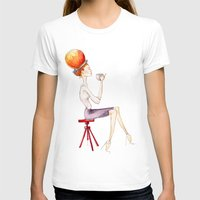 Cup of tea Womens Fitted Tee White SMALL