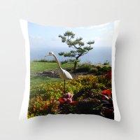 Master of the Garden  Throw Pillow