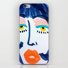 Mod Girl iPhone & iPod Skin
